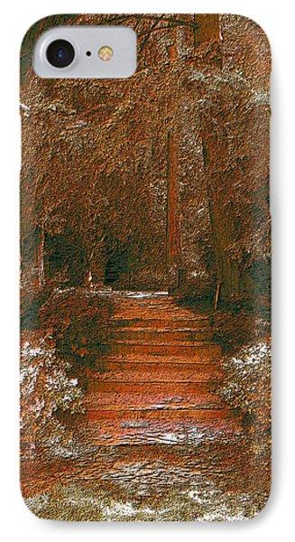 Arbor Steps Phone Case by Tim Allen