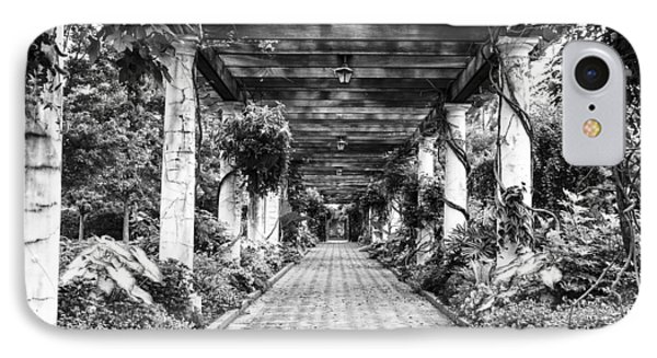 IPhone Case featuring the photograph Arbor Walkway by Phyllis Peterson