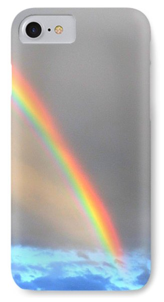 Arc Angle One IPhone Case by Lanita Williams