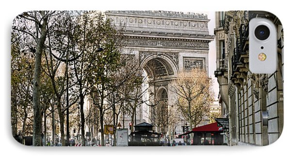 Arc De Triomphe Paris IPhone Case by Lynn Bolt