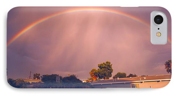 IPhone Case featuring the photograph Arc Of The Rainbow by Jeremy McKay
