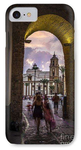 Arc Of The Rose Cadiz Spain IPhone Case by Pablo Avanzini