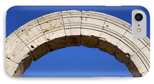 Arch At Leptis Magna In Libya IPhone Case by Robert Preston