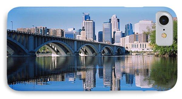 Arch Bridge Across A River IPhone Case