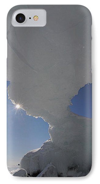Arch Of Ice Phone Case by Sandra Updyke