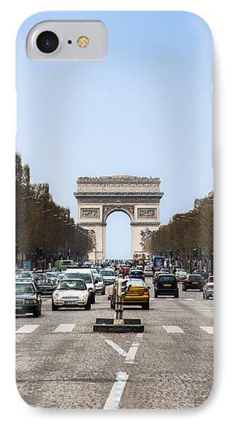 Arch Of Triumph In Paris IPhone Case