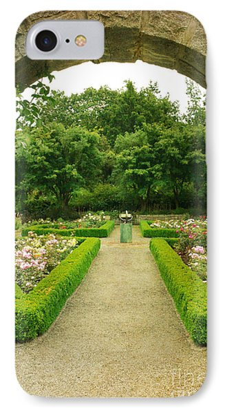 Arch To The Rose Garden IPhone Case