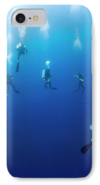 Archaeologists Diving To Shipwreck IPhone Case by Noaa