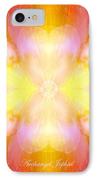 Archangel Jophiel IPhone Case by Diana Haronis
