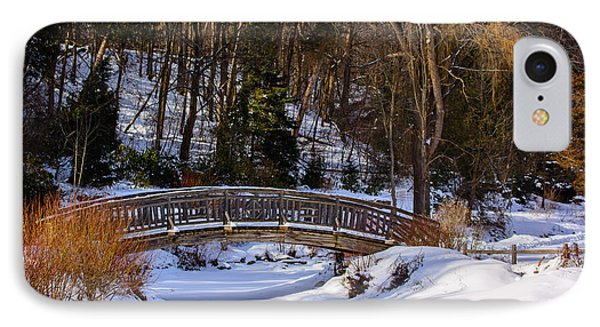 Arched Bridge In Edwards Garden IPhone Case