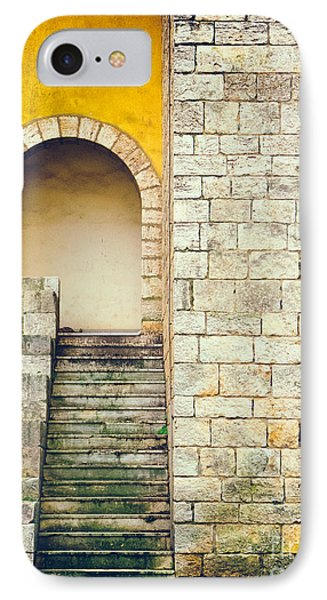 IPhone 7 Case featuring the photograph Arched Entrance by Silvia Ganora