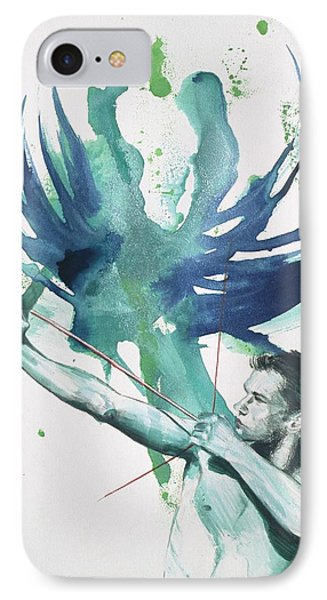 Archer IPhone Case by Rene Capone