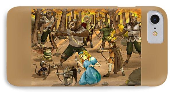 Archery In Oxboar IPhone Case by Reynold Jay