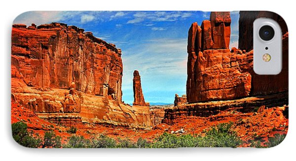 Arches 15 Phone Case by Marty Koch