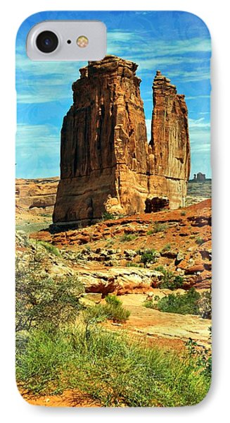 Arches 23 Phone Case by Marty Koch