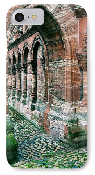 Arches And Cobblestone IPhone Case by Maria Huntley