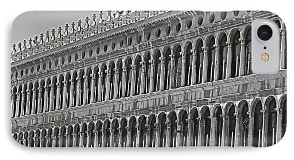 Arches And Columns In Piazza San Marco IPhone Case by Rita Mueller