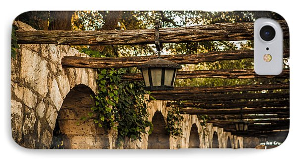 Arches At The Alamo IPhone Case by Melinda Ledsome