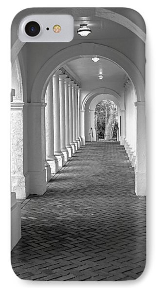 Arches At The Rotunda At University Of Va 2 IPhone Case by Jerry Gammon