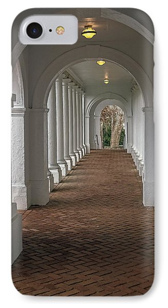 Arches At The Rotunda At University Of Va IPhone Case by Jerry Gammon