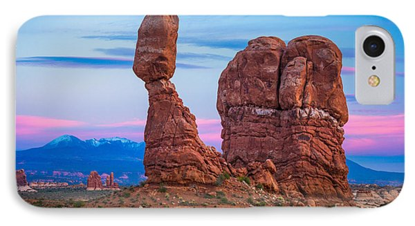 Arches Balanced Rock IPhone Case by Inge Johnsson