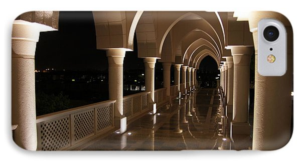 Arches In Abu Dhabi IPhone Case by Debi Demetrion