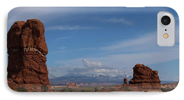 Arches National Monument IPhone Case by Suzanne Lorenz