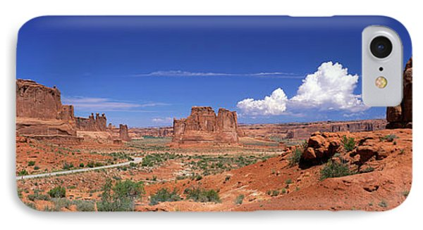 Arches National Park, Moab, Utah, Usa IPhone Case by Panoramic Images
