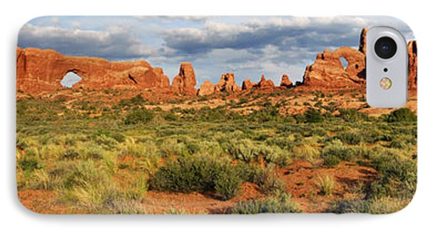 Arches National Park Panorama IPhone Case by Dave Mills