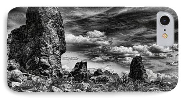 IPhone Case featuring the photograph Arches National Park by Shirley Mangini