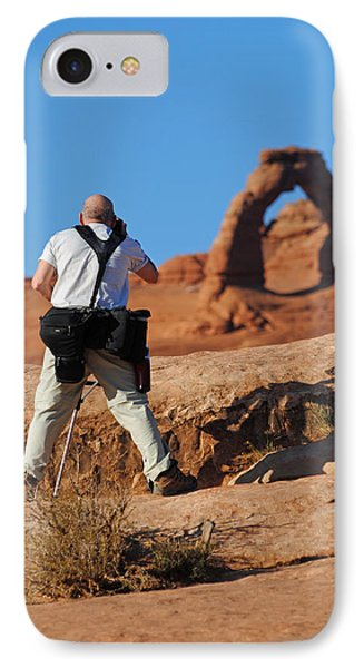 IPhone Case featuring the photograph Arches Np 27 by Jeff Brunton