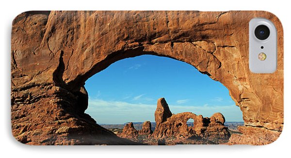 IPhone Case featuring the photograph Arches National Park 61 by Jeff Brunton