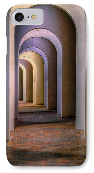Arches Of The Ferguson Center IPhone Case by Jerry Gammon
