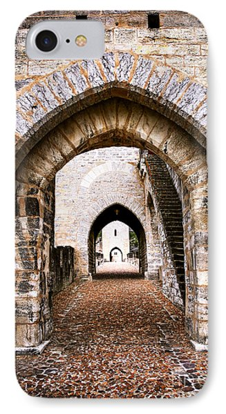Arches Of Valentre Bridge In Cahors France Phone Case by Elena Elisseeva