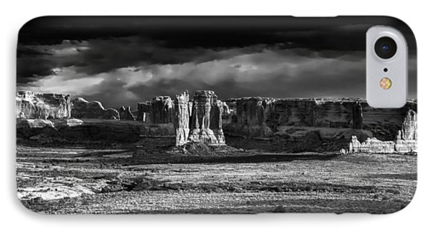 Arches Panorama IPhone Case by John McArthur