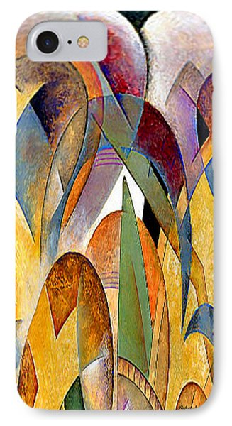 IPhone Case featuring the mixed media Arches by Rafael Salazar