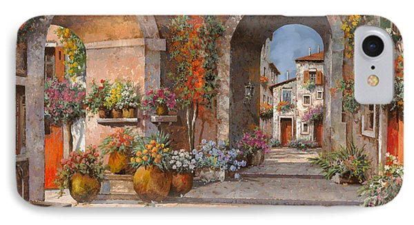 Archi E Sotoportego Phone Case by Guido Borelli