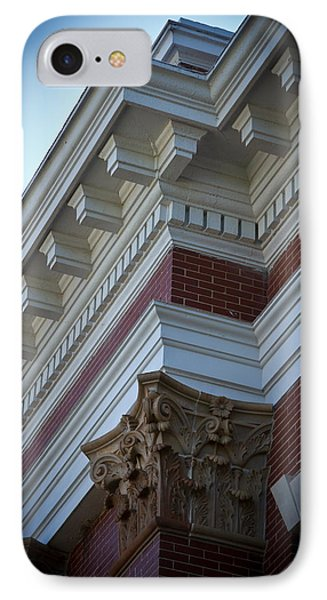Architechture Morgan County Court House IPhone Case