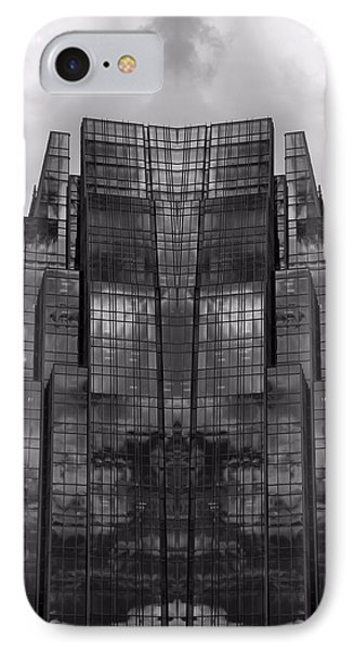 Architect's Dream Black And White Phone Case by Dan Sproul