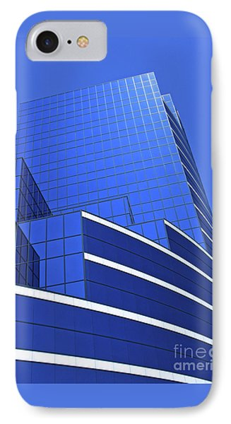 Architectural Blues Phone Case by Ann Horn