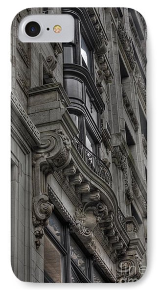 Architectural Detail Phone Case by David Bearden