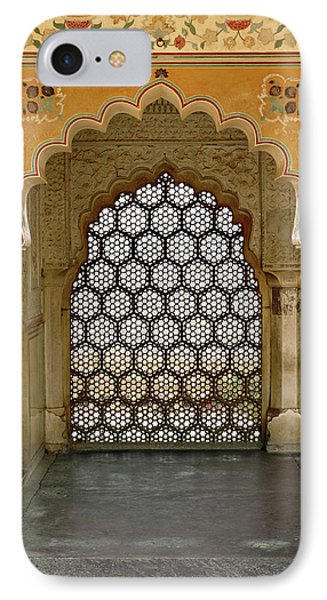 Architectural Details, Amber Fort IPhone Case by Adam Jones