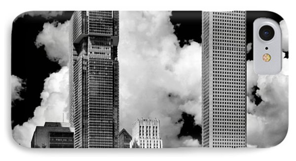 Architectural Diversity Houston Tx Phone Case by Christine Till