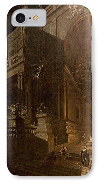 Architectural Fantasy With Figures Phone Case by Stefano Orlandi