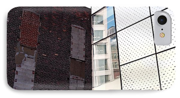 Architectural Juxtaposition On The High Line IPhone Case