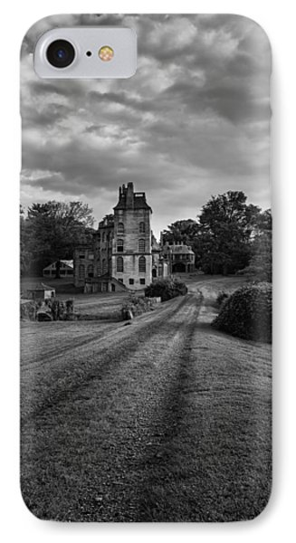 Architectural Treasure Bw Phone Case by Susan Candelario