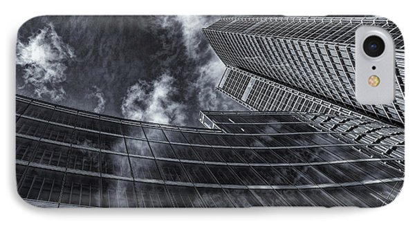 Architectural View With Clouds IPhone Case