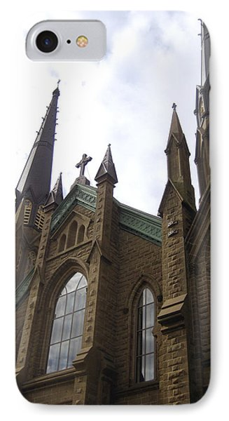 architecture churches Gothic Spires Phone Case by Ann Powell