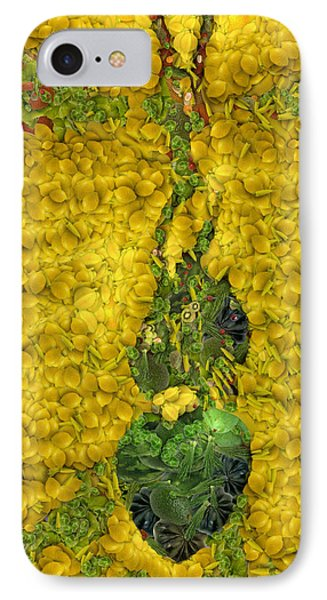 Arcimboldo Vegetable Heart Phone Case by Lorri Crossno