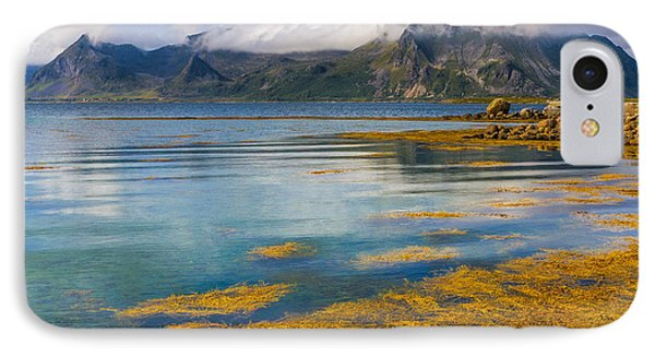 IPhone Case featuring the photograph Arctic Circle Paradise by Maciej Markiewicz